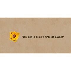 Best Friend By Joely   Best Friends 3d Greeting Card (8x4)   G0y5leicxfff   Www Artscow Com Back