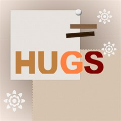Hugs By Joely   Hugs 3d Greeting Card (8x4)   0ks88gsk9sm8   Www Artscow Com Inside