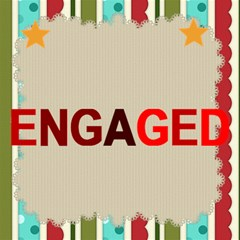 Engaged By Joely   Engaged 3d Greeting Card (8x4)   8wy8ustcnr9q   Www Artscow Com Inside