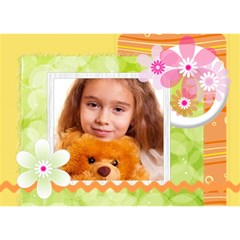 Get Well By Joely   Get Well 3d Greeting Card (7x5)   Jz10fwkavb45   Www Artscow Com Front