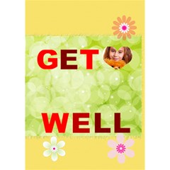 Get Well By Joely   Get Well 3d Greeting Card (7x5)   Jz10fwkavb45   Www Artscow Com Inside