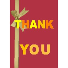 Thank You By Joely   Thank You 3d Greeting Card (7x5)   Nuh0r5utsf8r   Www Artscow Com Inside