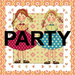 Party Card By Lillyskite   Party 3d Greeting Card (8x4)   Qaburitr61fw   Www Artscow Com Inside