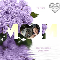 I Love You Mum 3d Card By Deborah   Mom 3d Greeting Card (8x4)   8751nxr9d8ou   Www Artscow Com Inside