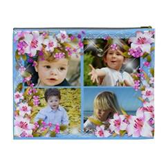 8 Frame Xl Cosmetic Bag By Deborah   Cosmetic Bag (xl)   G2r19r761a2k   Www Artscow Com Back
