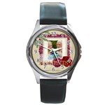 moment - Round Metal Watch