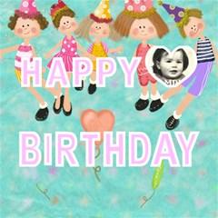 Happy Birthday Card By Lillyskite   Happy Birthday 3d Greeting Card (8x4)   1w8j7zda5n6v   Www Artscow Com Inside