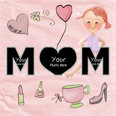 Mum By Lillyskite   Mom 3d Greeting Card (8x4)   Jihfnysr2mb0   Www Artscow Com Inside