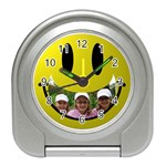 smile travel clock - Travel Alarm Clock