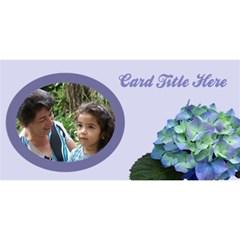 General Purpose 3d Mom Card By Deborah   Mom 3d Greeting Card (8x4)   Zjvjvifavs56   Www Artscow Com Front