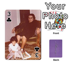Mariza Cards By Marka20300   Playing Cards 54 Designs   6guy4uxntrw6   Www Artscow Com Front - Club3