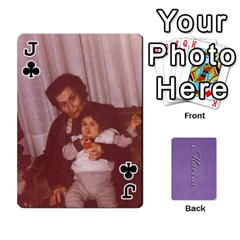 Jack Mariza Cards By Marka20300   Playing Cards 54 Designs   6guy4uxntrw6   Www Artscow Com Front - ClubJ