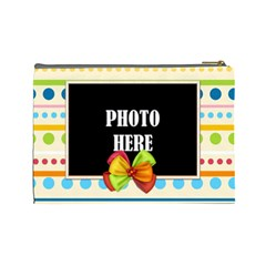 Carnival Large Cosmetic Bag 1 By Lisa Minor   Cosmetic Bag (large)   Y79mokb9zuor   Www Artscow Com Back