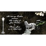 Our Marriage invitation 3dCard (8x4) - YOU ARE INVITED 3D Greeting Card (8x4)