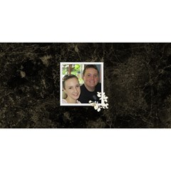 Our Marriage Invitation 3dcard (8x4) By Deborah   You Are Invited 3d Greeting Card (8x4)   Am3y08gmlwcb   Www Artscow Com Back