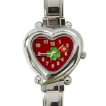 St Patrick - Heart Italian Charm Watch
