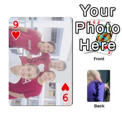 Memories By Tammy   Playing Cards 54 Designs   7tluf8yjm1cg   Www Artscow Com Front - Heart9