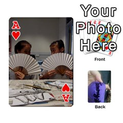 Ace Memories By Tammy   Playing Cards 54 Designs   7tluf8yjm1cg   Www Artscow Com Front - HeartA
