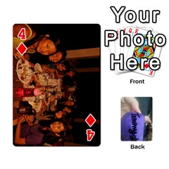 Memories By Tammy   Playing Cards 54 Designs   7tluf8yjm1cg   Www Artscow Com Front - Diamond4