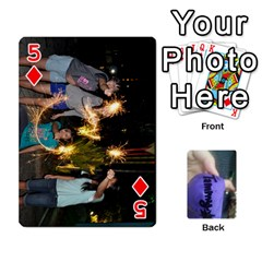 Memories By Tammy   Playing Cards 54 Designs   7tluf8yjm1cg   Www Artscow Com Front - Diamond5