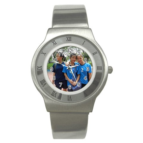 Cas By Tammy   Stainless Steel Watch   Of6pzhpwre4a   Www Artscow Com Front