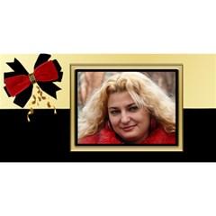Elegant 3d Happy Birthday By Deborah   Happy Birthday 3d Greeting Card (8x4)   Pthjsmlr3g1b   Www Artscow Com Front