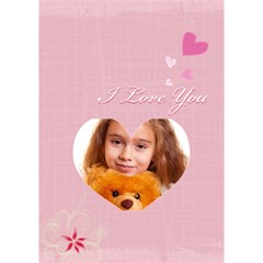 Love You By Joely   Heart Bottom 3d Greeting Card (7x5)   Dgwbomm3tg8c   Www Artscow Com Inside