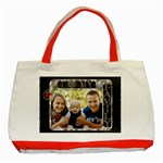 Love My Family Classic Red Tote Bag - Classic Tote Bag (Red)