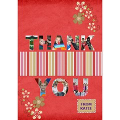 Miss By Jenny   Thank You 3d Greeting Card (7x5)   Rluqhryfoo0a   Www Artscow Com Inside