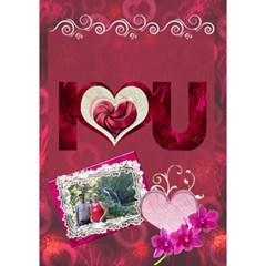 You re Awesome I Love You 3d Card By Ellan   I Love You 3d Greeting Card (7x5)   O2p2yduduyvy   Www Artscow Com Inside