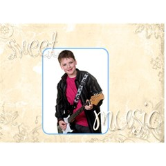 Sweet Music Nathan By Catvinnat   Love 3d Greeting Card (7x5)   Nnwbe0zzm37k   Www Artscow Com Front