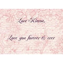 Ayden Anniversary By Kiarne Randall   Heart 3d Greeting Card (7x5)   Vdi4qvmvzhpq   Www Artscow Com Back