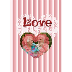 Love Of Heart By Joely   Heart Bottom 3d Greeting Card (7x5)   Qf11l1cqisyw   Www Artscow Com Inside