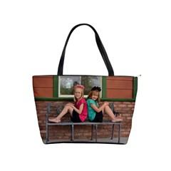 Color Girs Together By Tina Plum   Classic Shoulder Handbag   Im35eea5re1e   Www Artscow Com Front