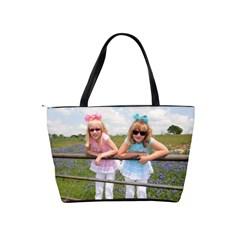 Color Girs Together By Tina Plum   Classic Shoulder Handbag   Im35eea5re1e   Www Artscow Com Back
