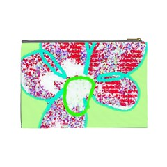 Colour  Your Face By Riksu   Cosmetic Bag (large)   V21y61ecob25   Www Artscow Com Back