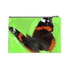 Butterfly Bag For Cosmetics By Riksu   Cosmetic Bag (large)   V0jo55p1rs5r   Www Artscow Com Back