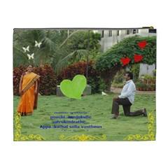 Suresh Amma    By Subramanian   Cosmetic Bag (xl)   O1wer8knqfhw   Www Artscow Com Back
