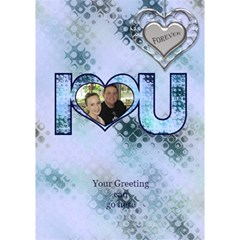 All Stamped I Love You 3d Card By Deborah   I Love You 3d Greeting Card (7x5)   Vpqhd8vja1e8   Www Artscow Com Inside