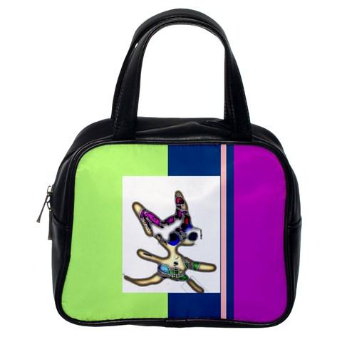 Chihuahua Bag By Riksu   Classic Handbag (one Side)   Qlqb5suvv440   Www Artscow Com Front
