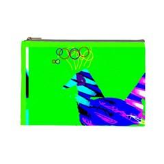 Gorgeous Bird By Riksu   Cosmetic Bag (large)   Spgs1ktgacw6   Www Artscow Com Front