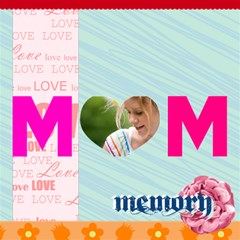 Mom By Joely   Mom 3d Greeting Card (8x4)   M5grje1464f5   Www Artscow Com Inside
