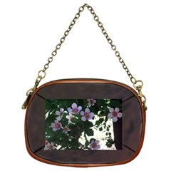 Flowers On Rust By Riksu   Chain Purse (two Sides)   5vrh3ffnmvrd   Www Artscow Com Back