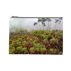 Misty  Green By Riksu   Cosmetic Bag (large)   7ldu4v1jgsd0   Www Artscow Com Front