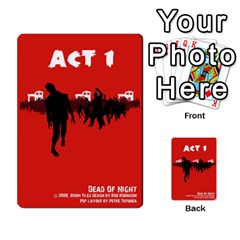 Dead Of Night  1/2 With White Text By Belling   Playing Cards 54 Designs   Tkz84e3ajrq4   Www Artscow Com Back