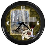 Games Room clock - Wall Clock (Black)