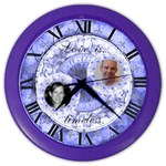 Love is timeless wall clock - Color Wall Clock