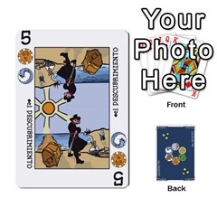 Decktet En Español By Carlos   Playing Cards 54 Designs   Zq9y1kmckfng   Www Artscow Com Front - Diamond8