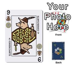 Queen Decktet En Español By Carlos   Playing Cards 54 Designs   Zq9y1kmckfng   Www Artscow Com Front - DiamondQ