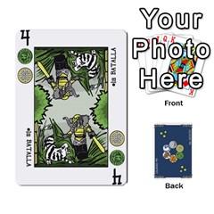 Decktet En Español By Carlos   Playing Cards 54 Designs   Zq9y1kmckfng   Www Artscow Com Front - Club5